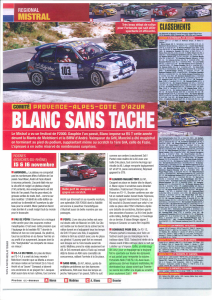article dans rallyes magazine 01